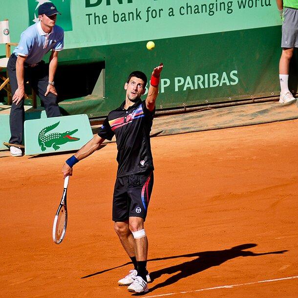 Novak Djokovic Tennis Shoes & Court Equipment